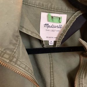 Made well army cargo jacket- just dry cleaned